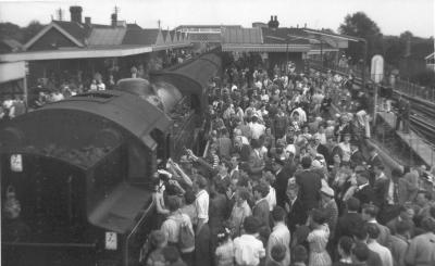 Amersham Station September 1962